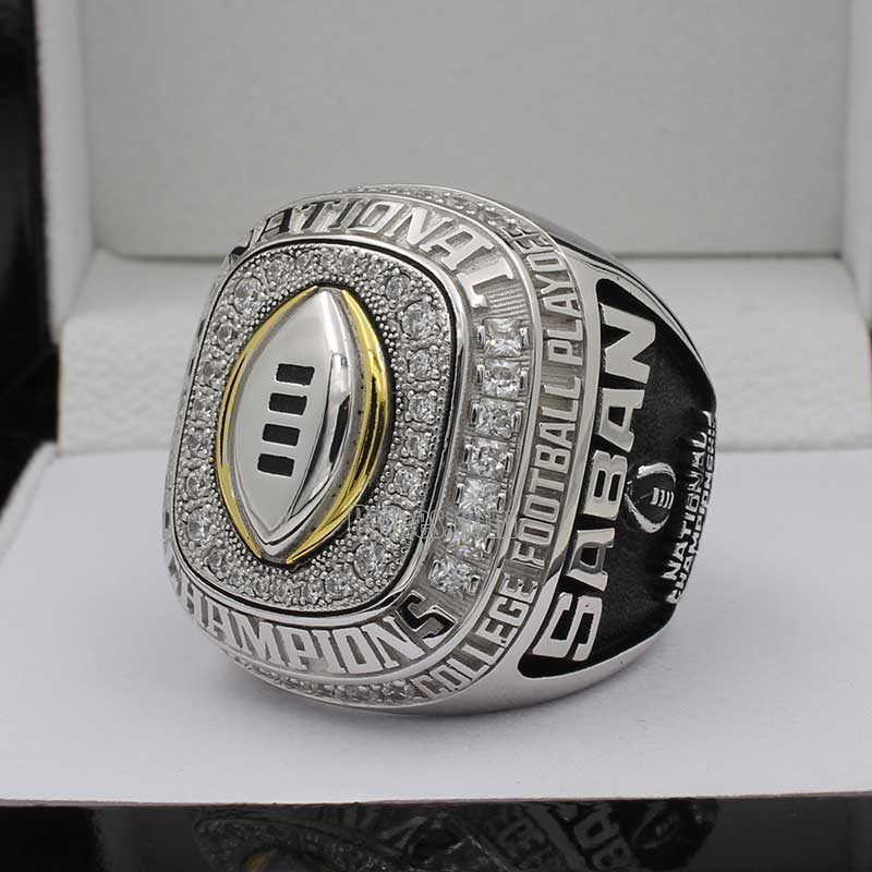 2015 alabama college football playoff national championship ring