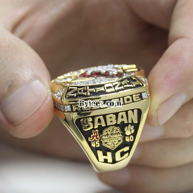 2015 Crimson Tide National Championship Ring