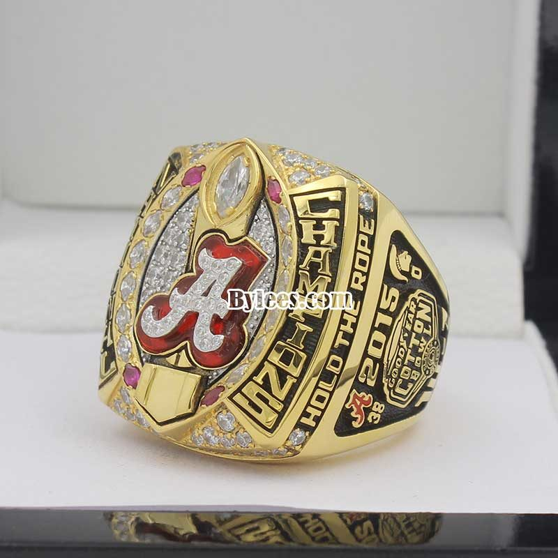 2015 Alabama National Championship Ring