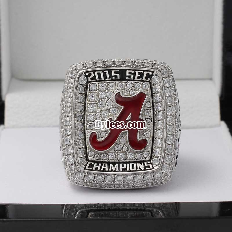 2015 university of alabama SEC championship ring