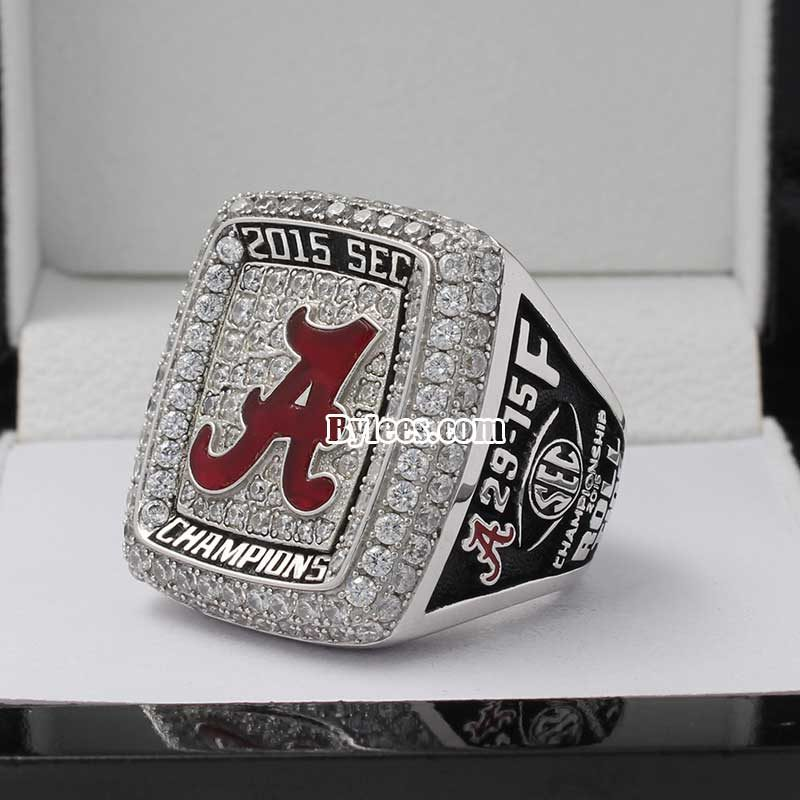2015 Alabama Crimson Tide SEC Championship Ring