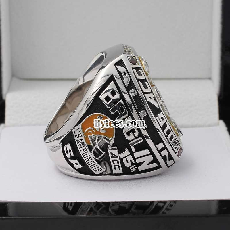 2015 Clemson Tiger Championship ring in ACC Game