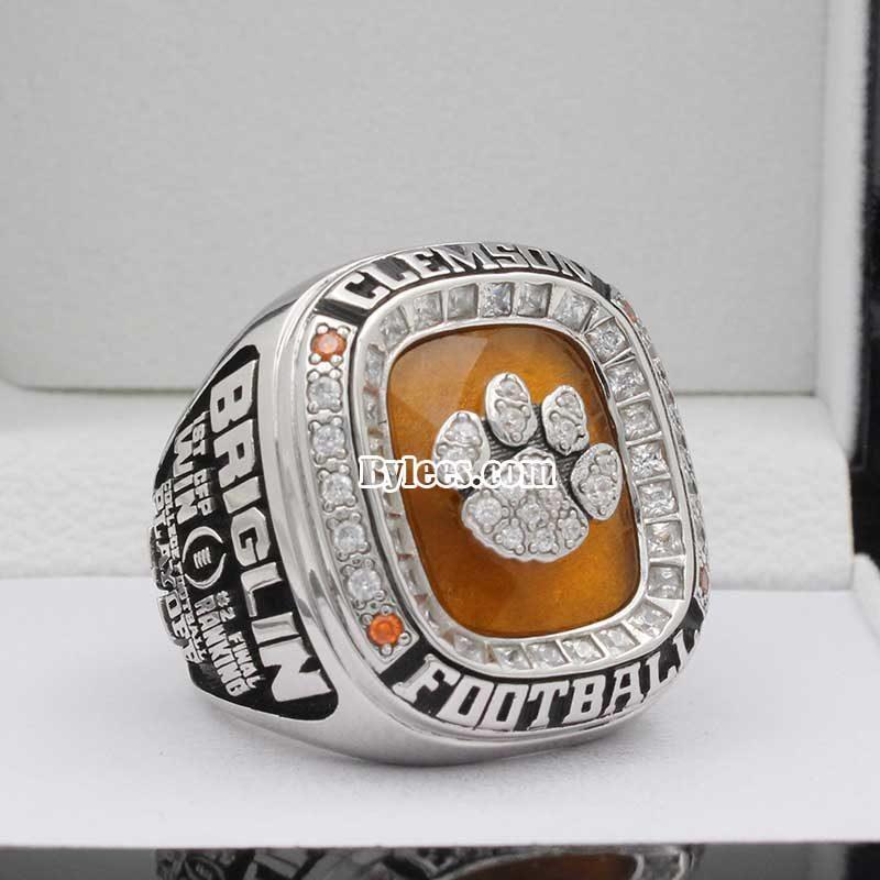 Clemson 2015 Orange Bowl Championship Ring