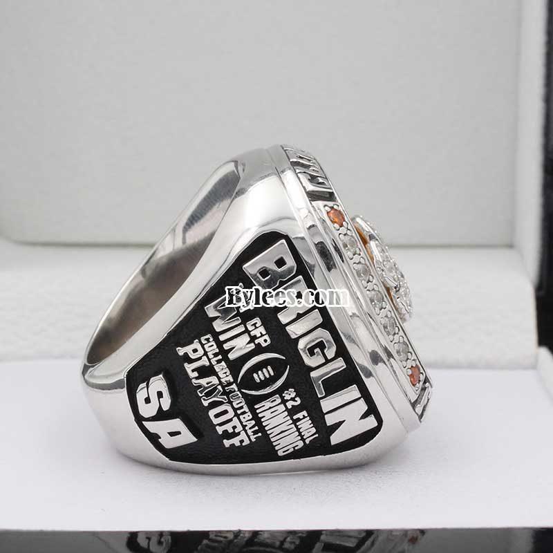 2015 Clemson University Tigers Orange Bowl Championship Ring