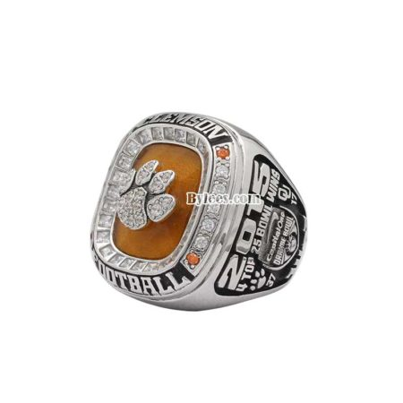 2015 Clemson University Orange Bowl Championship Ring
