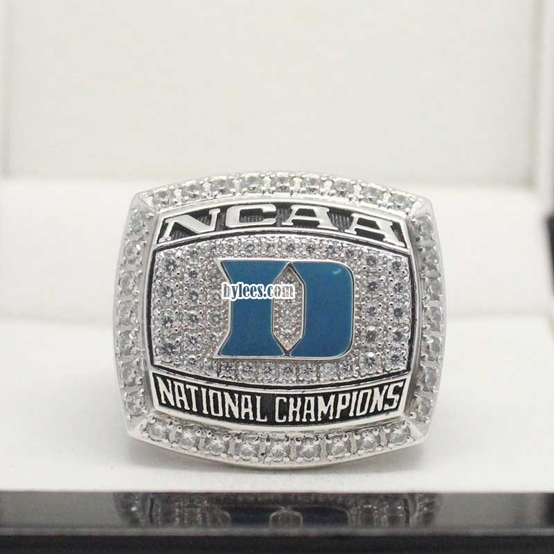 2015 Duke Blue Devils National Championship Ring