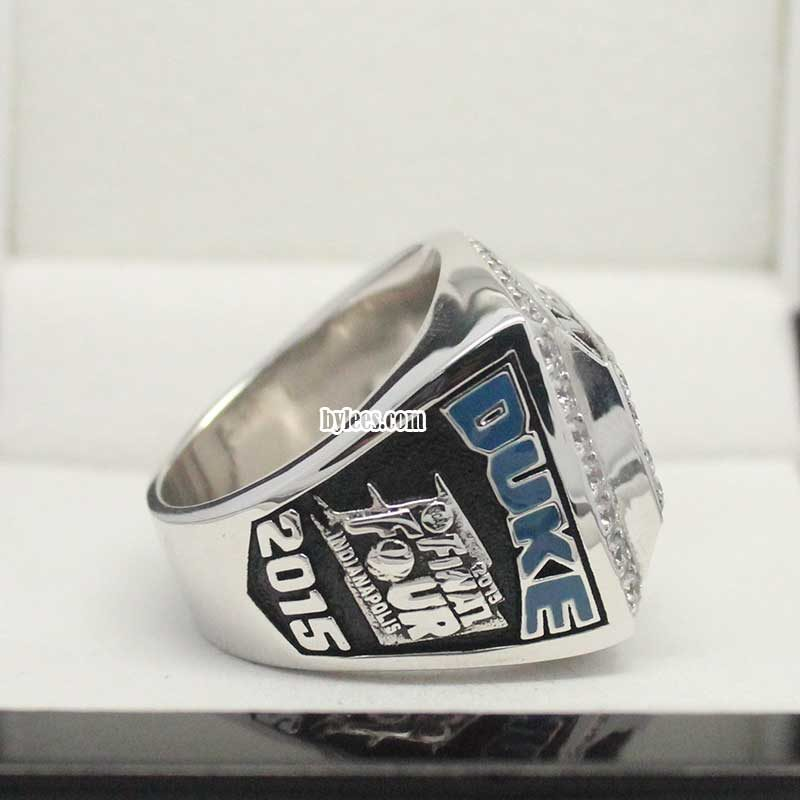 2015 Duke Blue Devils Basketball Championship Ring
