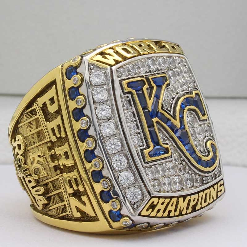 kansas city royals world series 2015 ring