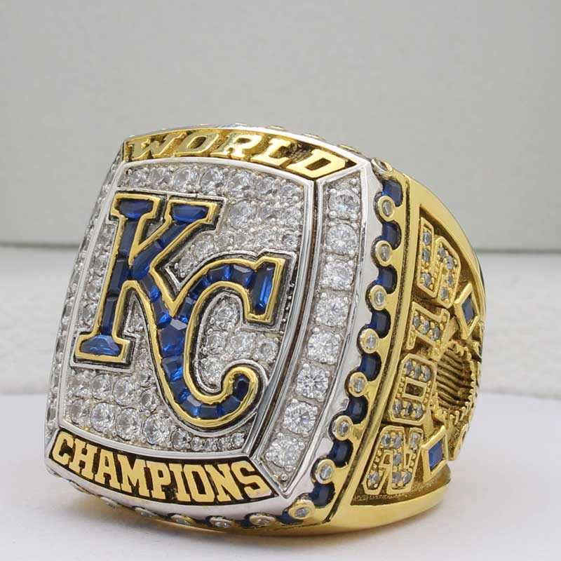 kansas city royals 2015 world series ring