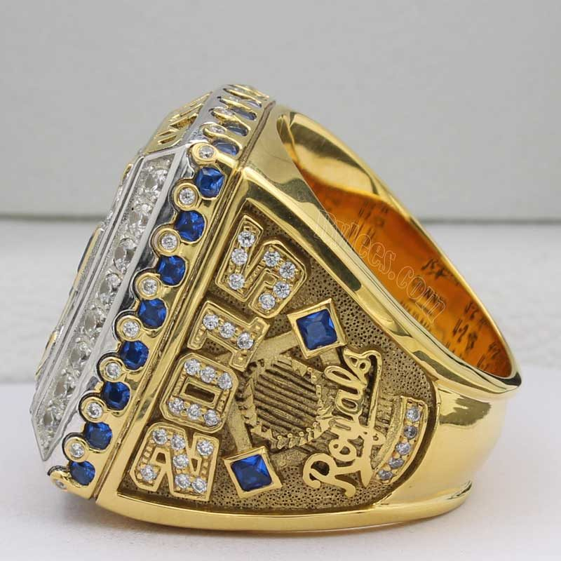 kansas city royals world series ring 2015
