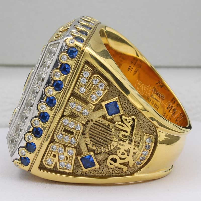 kc royals 2015 world series ring