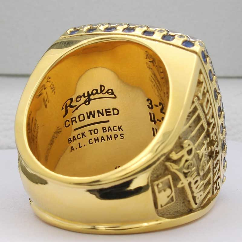 2015 kansas city royals ring
