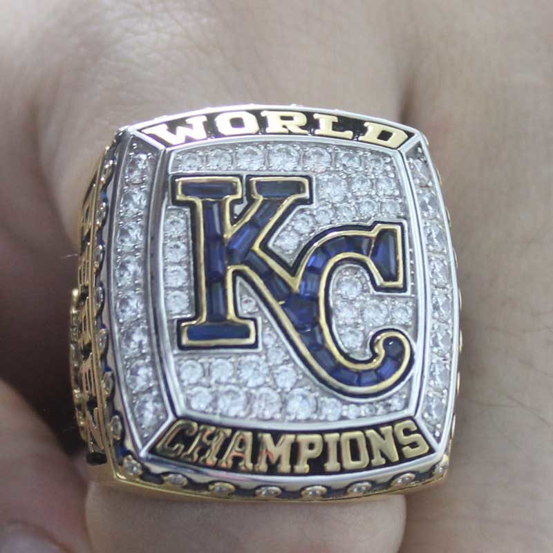 2015 kansas city royals championship ring