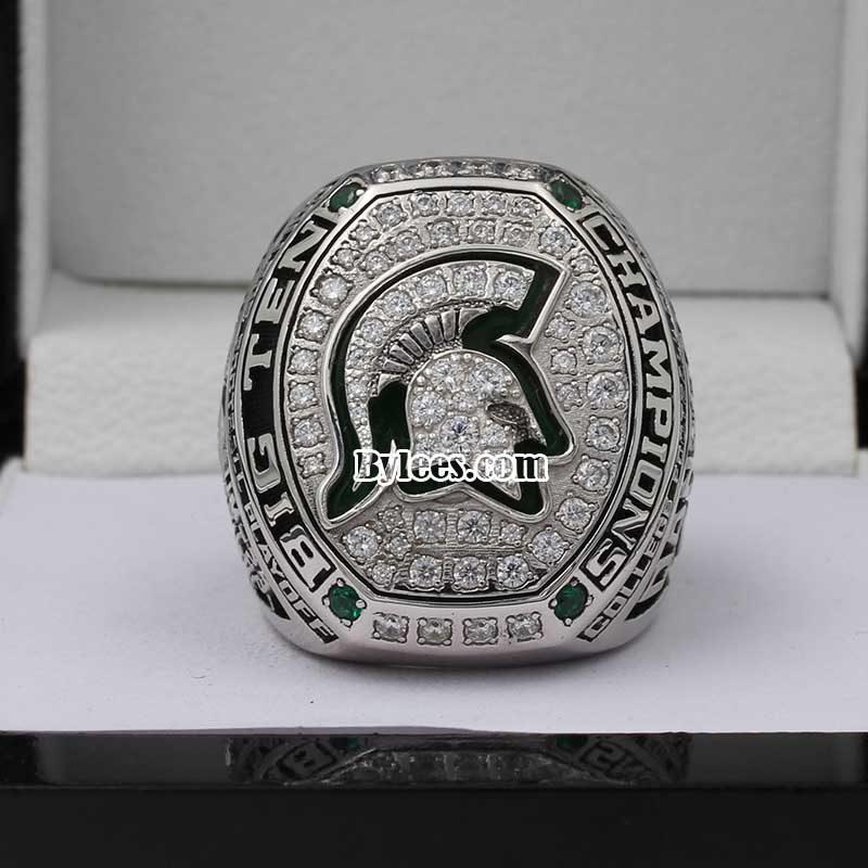 2015 Michigan State big ten championship ring