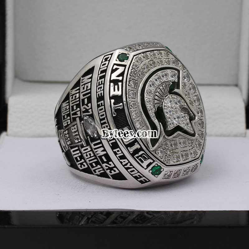 2015 Michigan State Spartans Big Ten Championship Ring