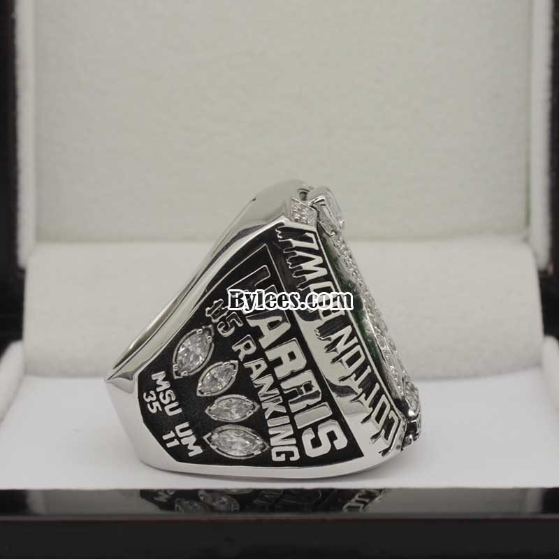 2015 MSU Cotton Bowl Championship Ring