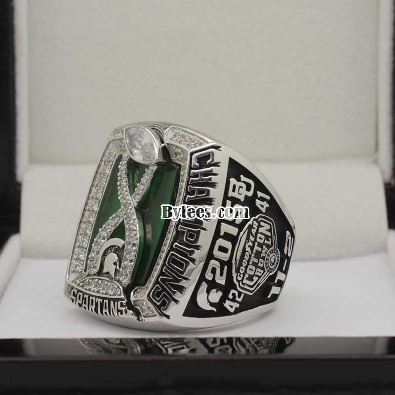 2015 Michigan State Cotton Bowl Championship Ring
