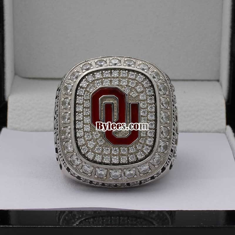 Oklahoma 2015 big 12 Championship Ring