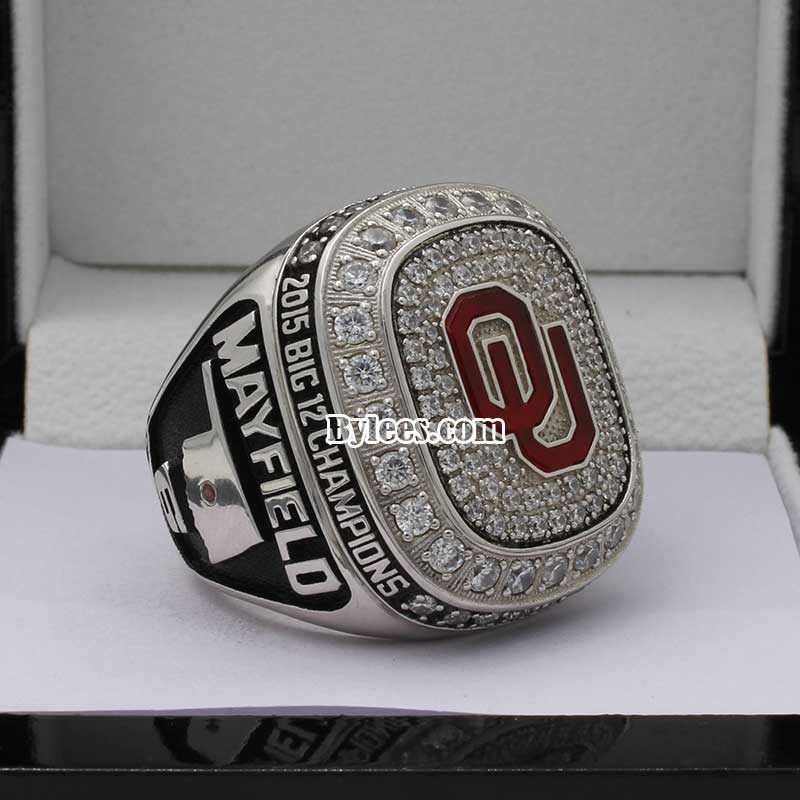 Oklahoma Big 12 Championship Ring 2015
