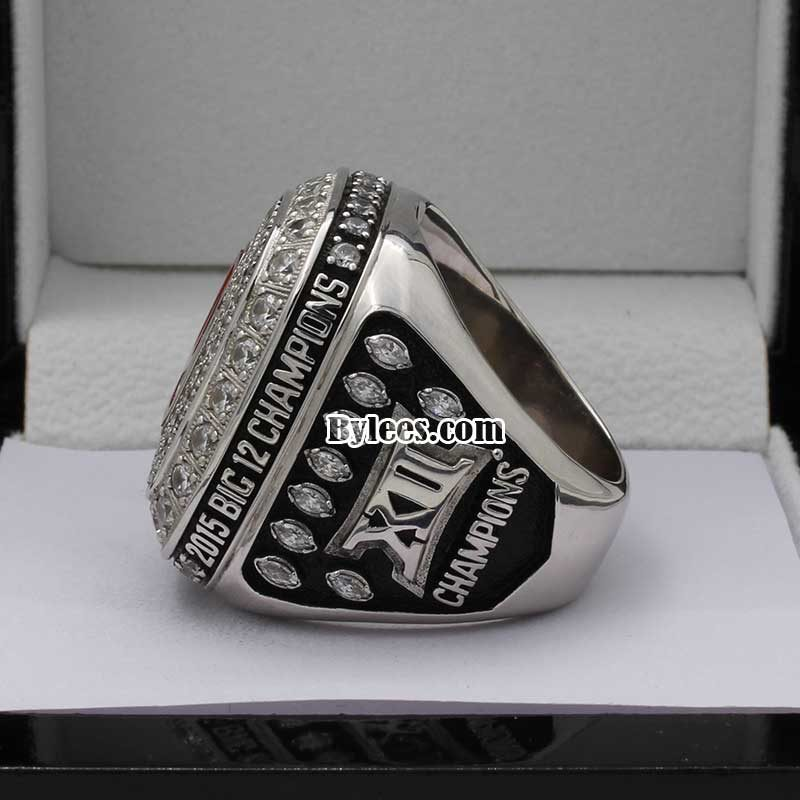 2015 Oklahoma Sooner Football Championship Ring
