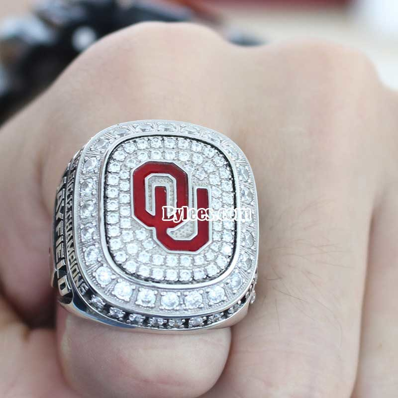 2015 Oklahoma Big 12 Championship Ring
