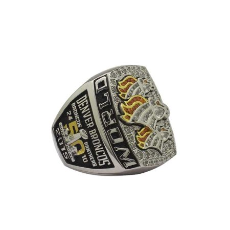 2015 Super Bowl 50 Denver Broncos Fan Championship Ring