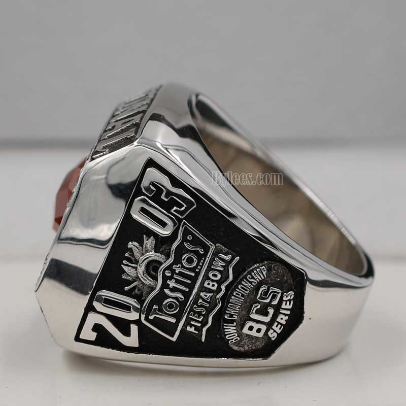 ohio state 2003 national championship ring