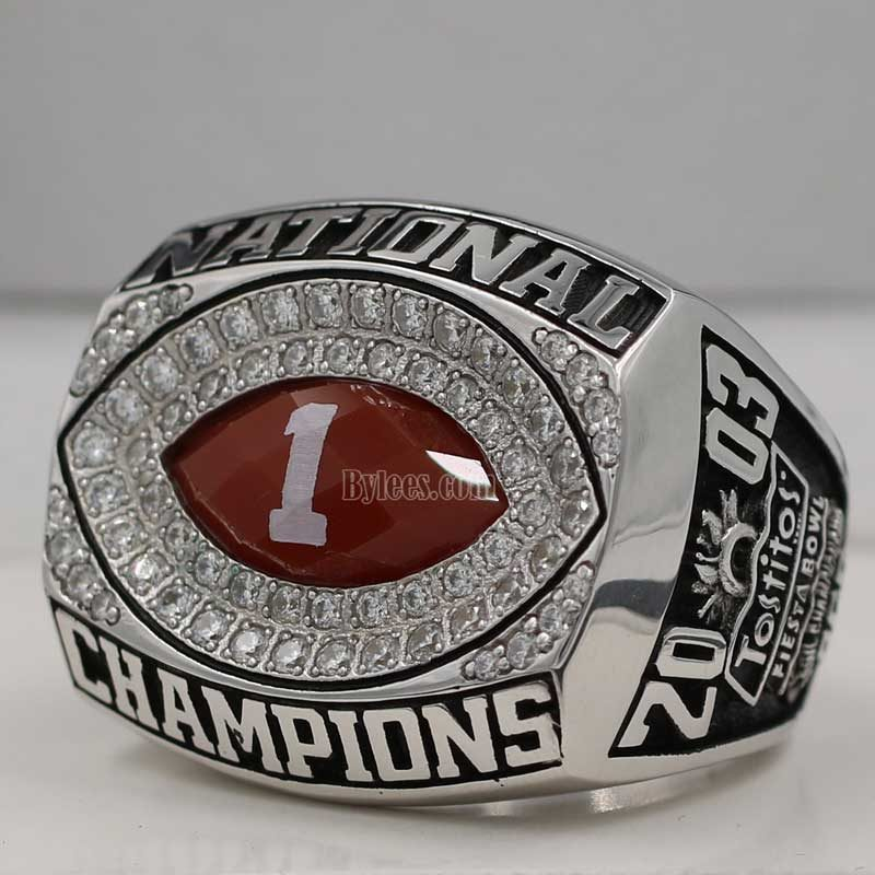 2003 Ohio State BCS National Championship Ring