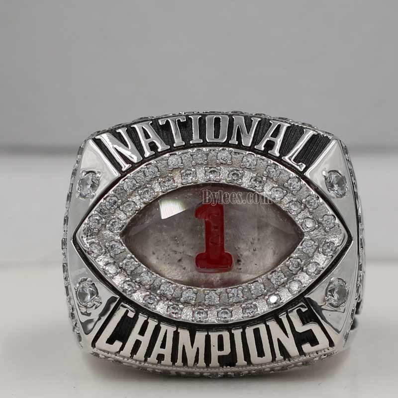 2011 Alabama Crimson Tide BCS National Championship Ring