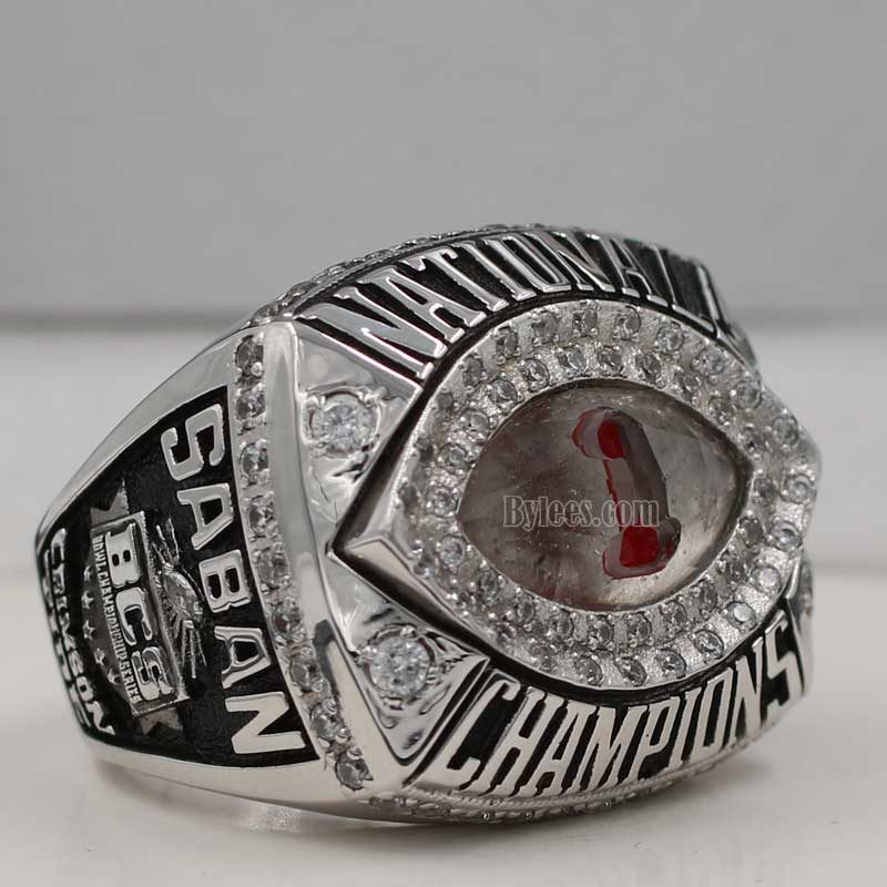 2011 Alabama BCS National Championship Ring
