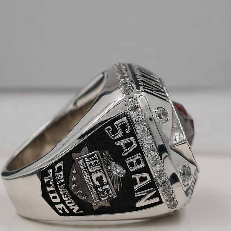 Alabama Crimson Tide BCS National Championship Ring 2011