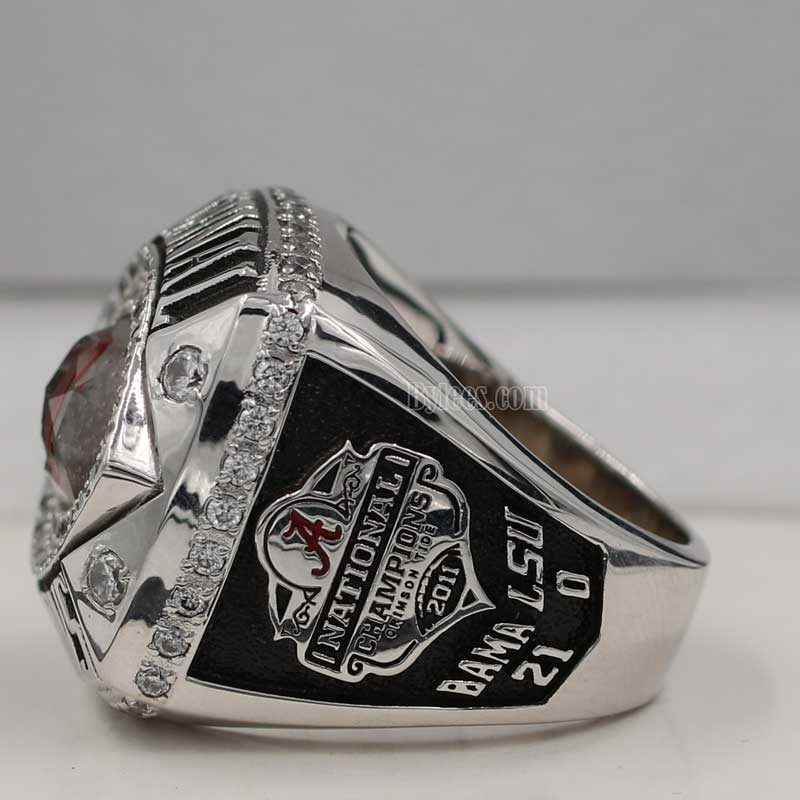 Alabama 2011 BCS National Championship Ring