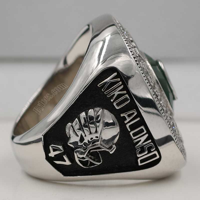 Right side view of 2012 Rose Bowl Ring (showing the name of defensive player KIDO Alondo)