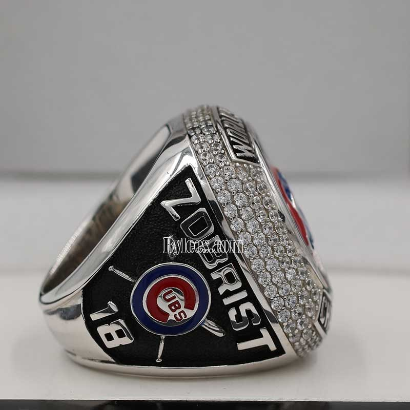 Right Side view of 2016 cubs world series fan championship ring