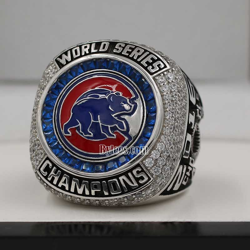 cubs 2016 world series fan championship ring