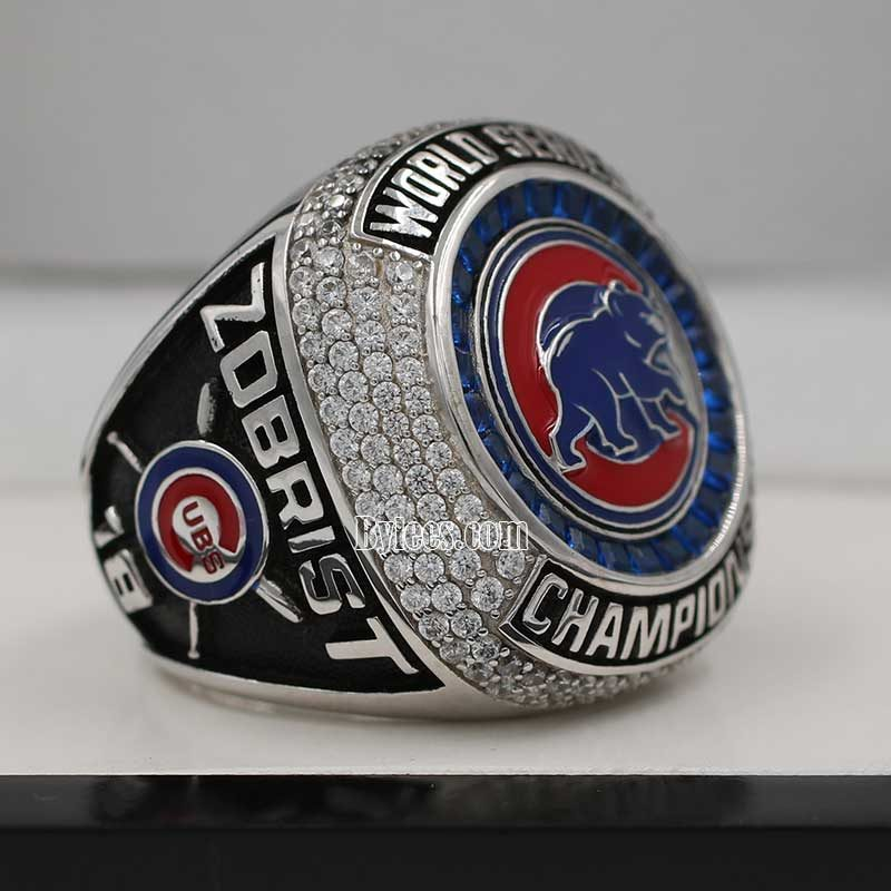 cubs 2016 world series fan ring