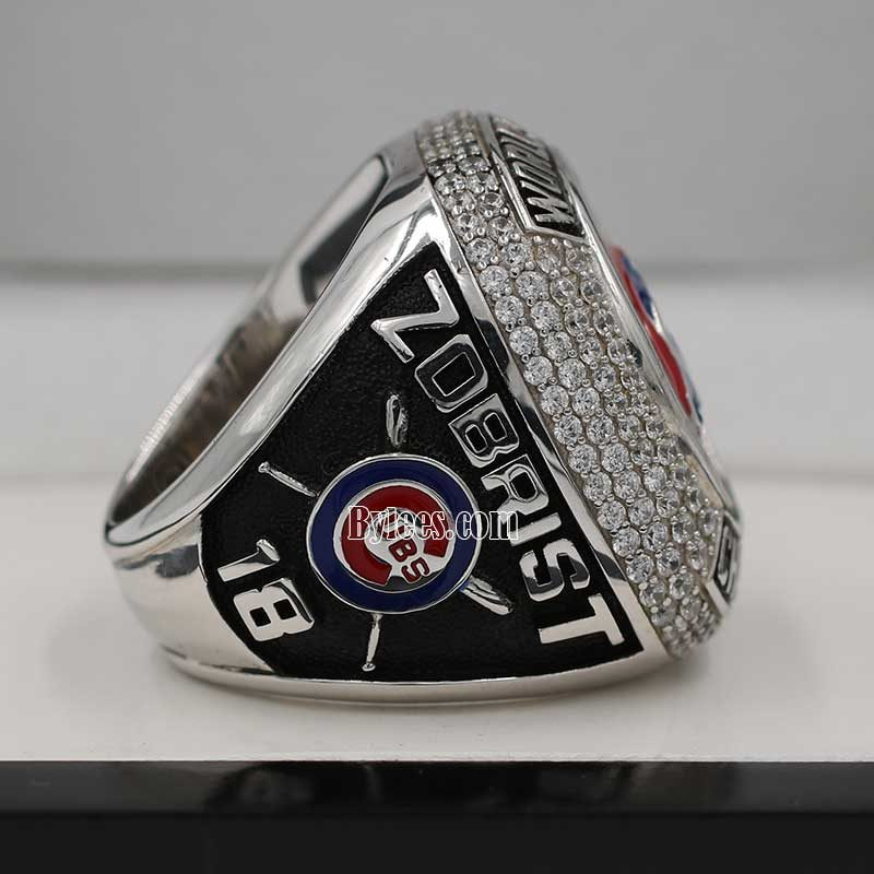 chicago cubs world series fan championship ring 2016