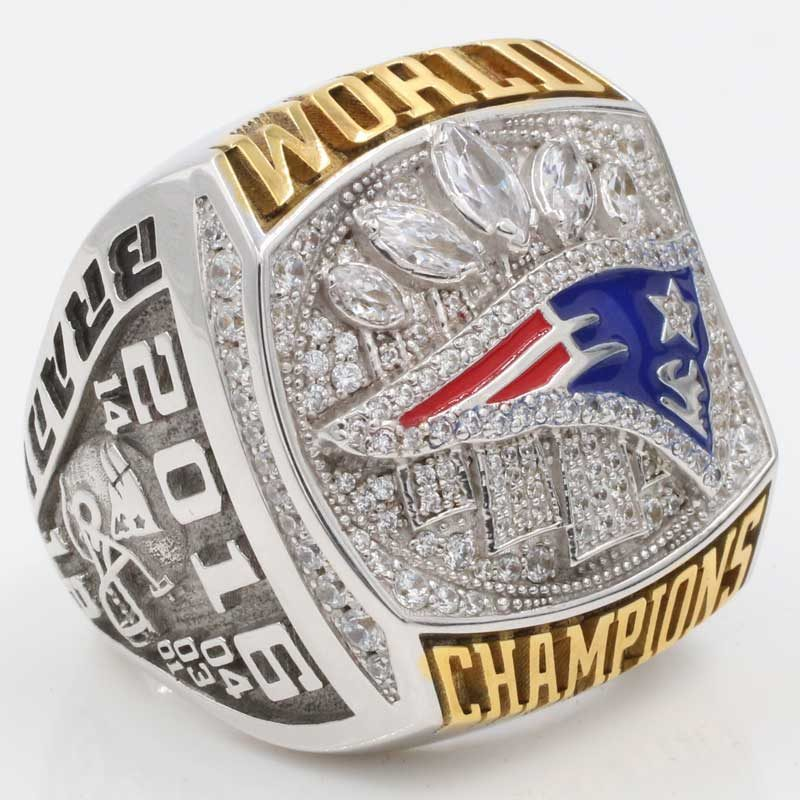 Fan championship rings for patriots super bowl 2016