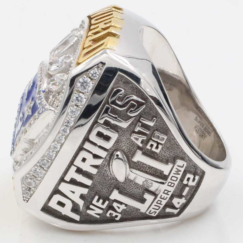 patriot super bowl fan championship ring 2016 for sale