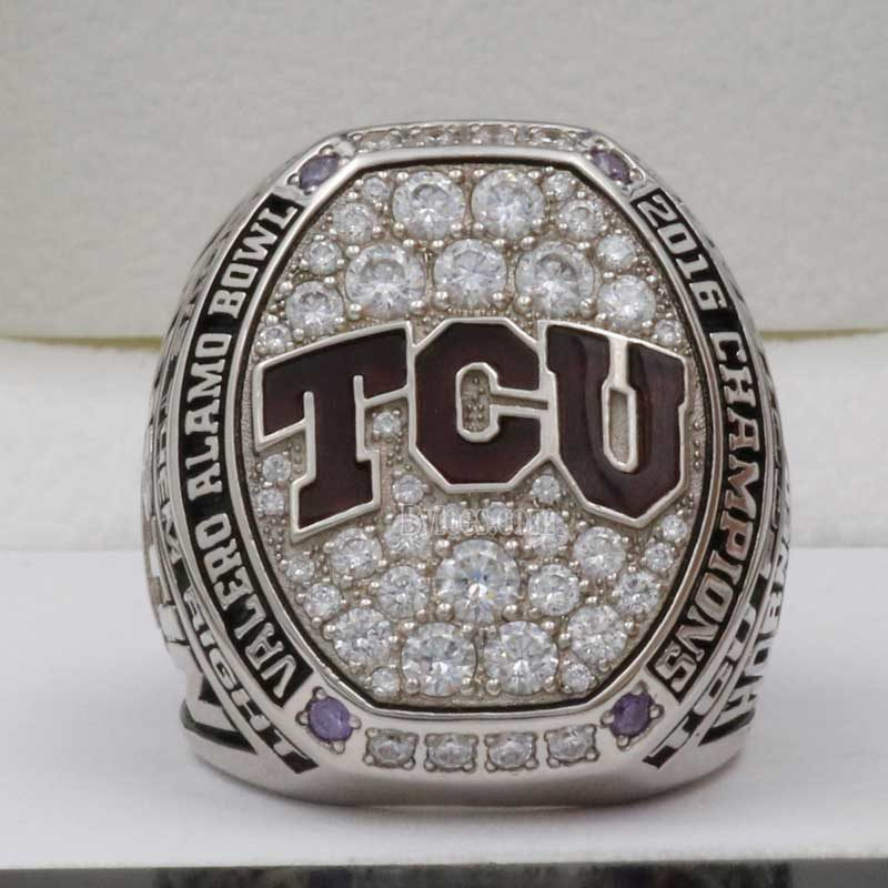 2016 TCU Alamo Bowl Championship Ring