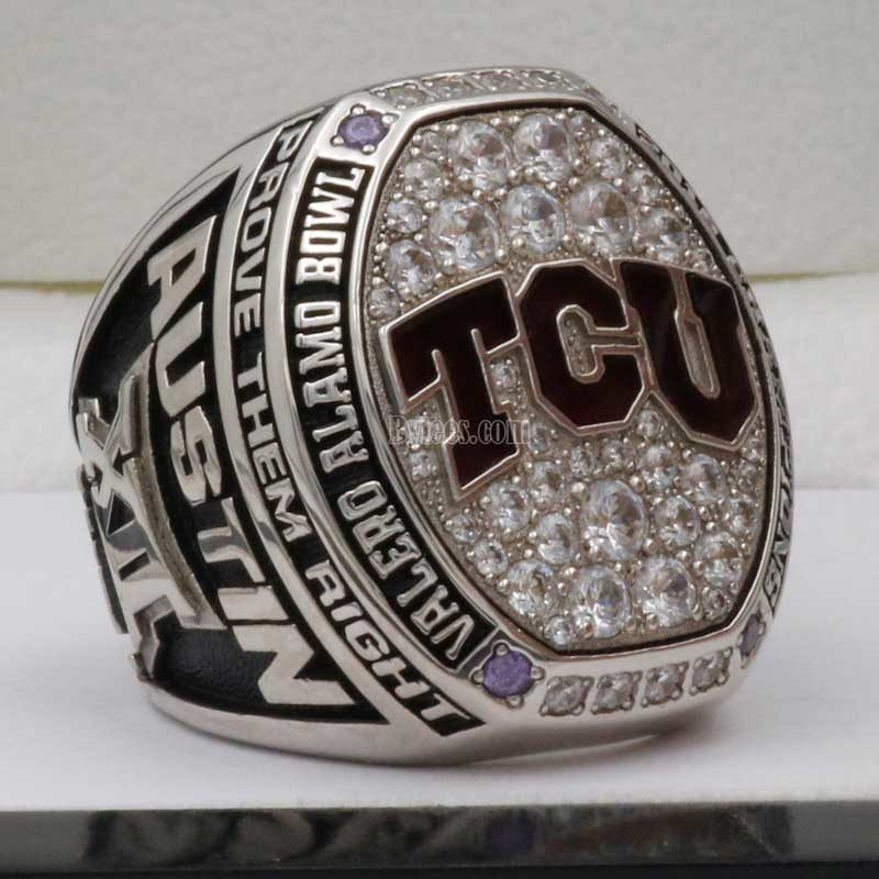 2016 TCU Alamo Bowl Ring