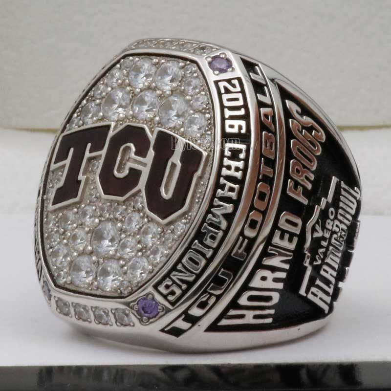 2016 TCU Horned Frogs Alamo Bowl Championship Ring