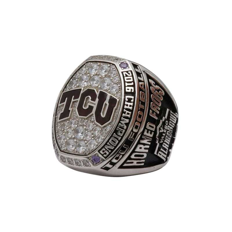 2016 TCU Horned Frogs Alamo Bowl Championship Ring (Thumbnail)