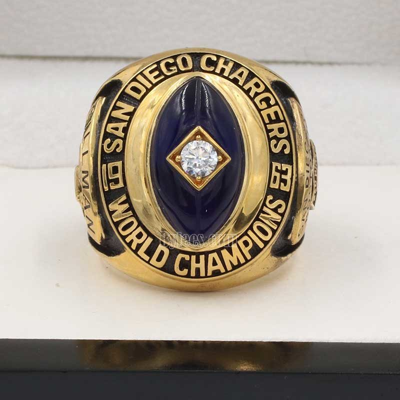 San Diego Chargers 1963 championship ring