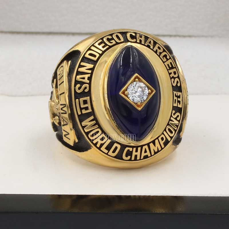 1963 San Diego Chargers championship ring
