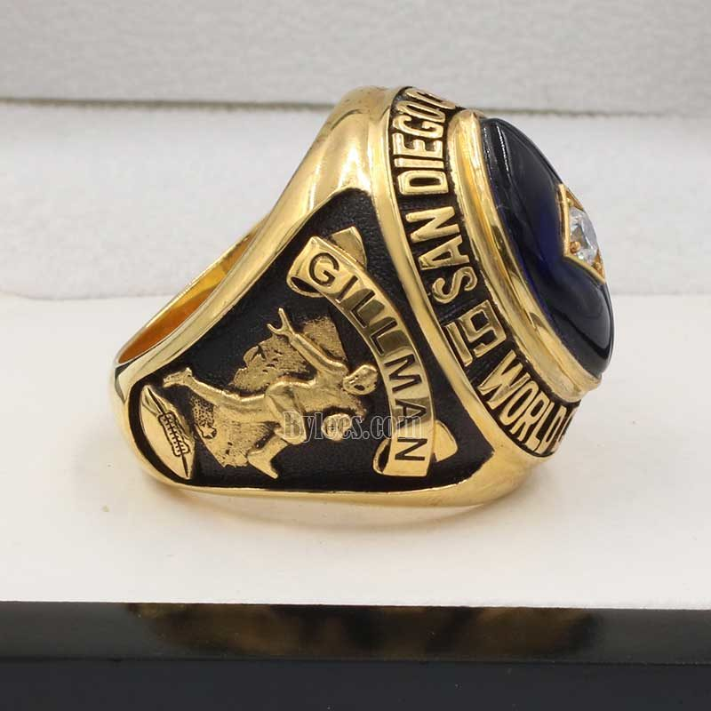1963 Chargers championship ring