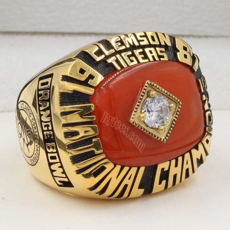 Clemson 1981 Football National Championship ring