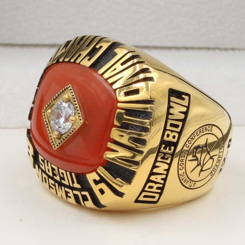 1981 Clemson National Championship ring