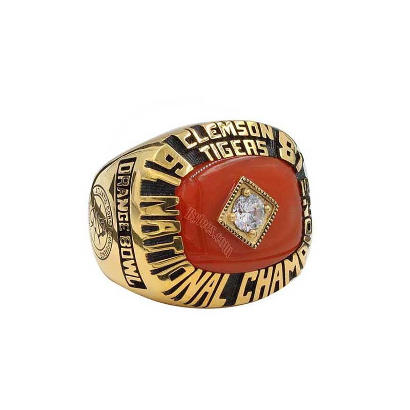 Tigers Clemson  National Ring 1981 Best – Championship