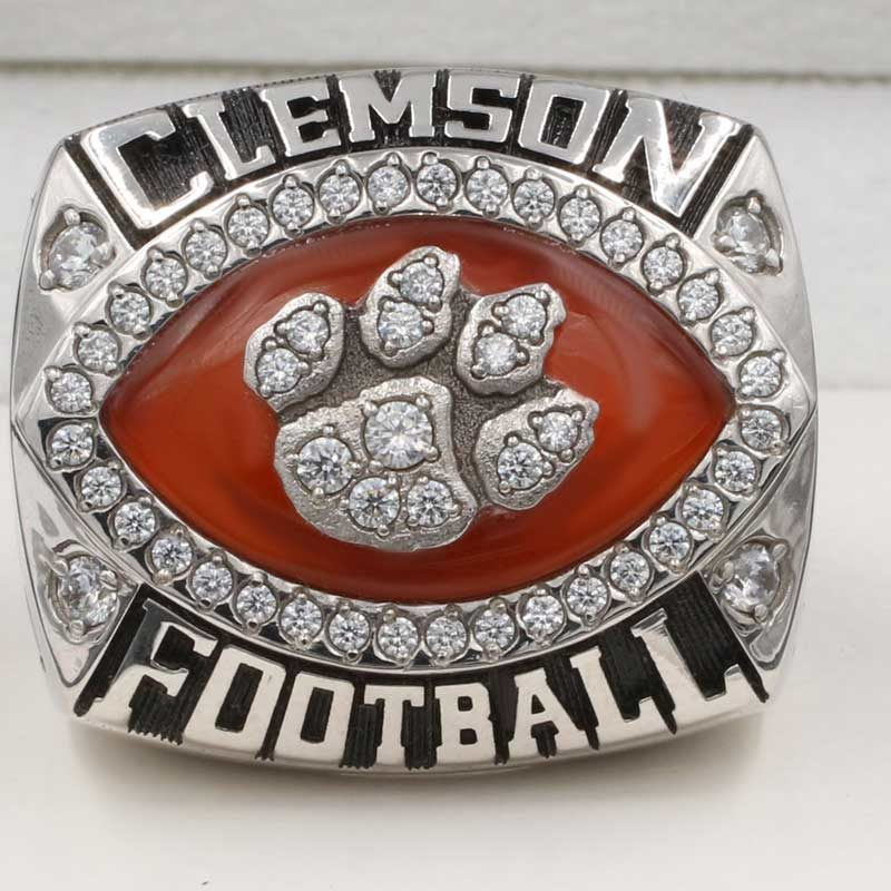 2014 Clemson Tigers Russell Athletic Bowl Championship Ring